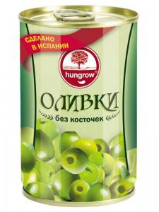 оливки б/к 240/260 ж/б (0.3кг) Hungrow
